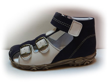 Boots4U T-113 modrá/béžová