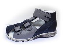 Boots4U T-113 modrá/šeda líc