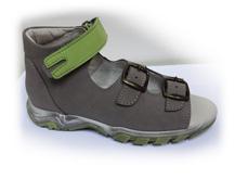 Boots4U T-213 šedá/pistácie