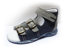 Boots4U T-213 modrá/šedá
