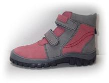 Boots4U T-314V růžová/šedá